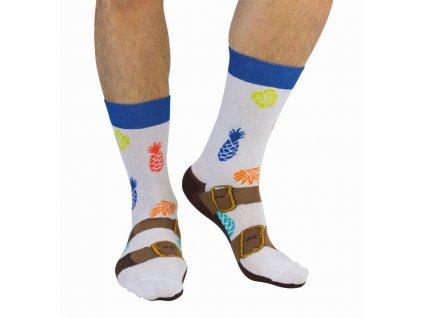 Veselé ponožky Sandals veľ.: 39-46