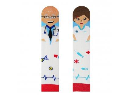 Veselé ponožky Doktor a sestrička od firmy Hesty Socks
