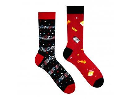 Veselé ponožky Muzika od firmy Hesty Socks