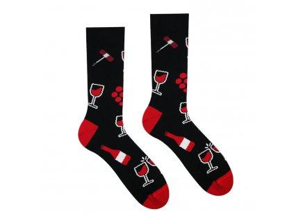 Veselé ponožky Vínopič od firmy Hesty Socks