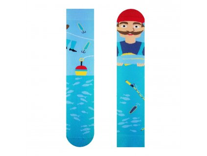 Veselé ponožky Rybár od firmy Hesty Socks