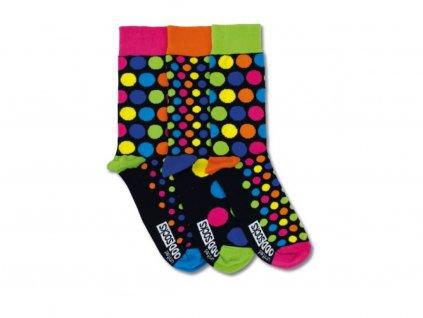 veselé ponožky jack 3 ks
