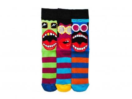 Veselé ponožky Barry 3ks veľ.: 39-46