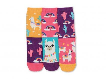 Veselé ponožky Wooly 3ks veľ.: 37-42