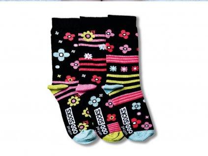 veselé ponožky zingy 3 ks