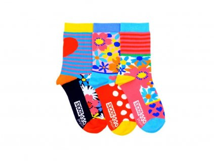 veselé ponožky mia 3 ks