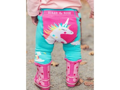 Detské legíny Flying Unicorn
