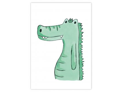 paradoo detske plagaty krokodil 1