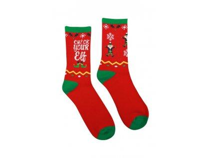 Veselé Termo ponožky Elf