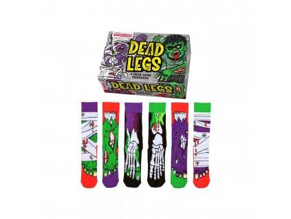 Veselé ponožky Dead Legs veľ. 39-46