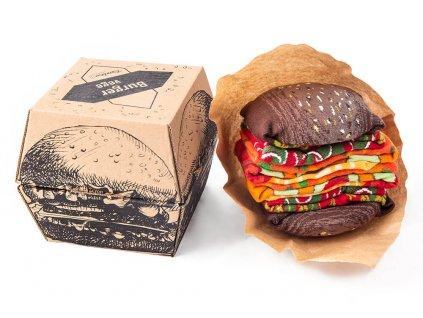 Darčekové balenie ponožiek Vege Burger (2 páry)