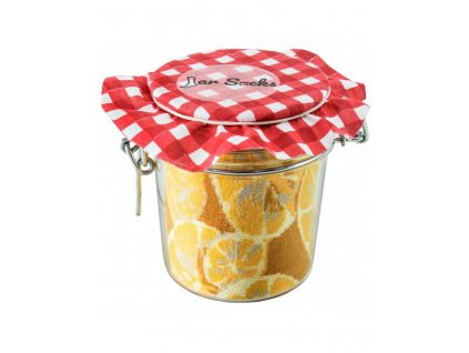 Darčekové balenie ponožiek Zaváraný citrón s hráškom a mrkvou (2 páry)
