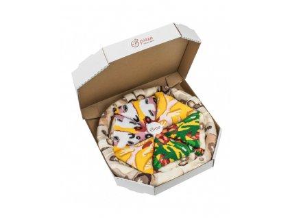 ponozky paradoo pizza mix italian hawaiian capriciosa