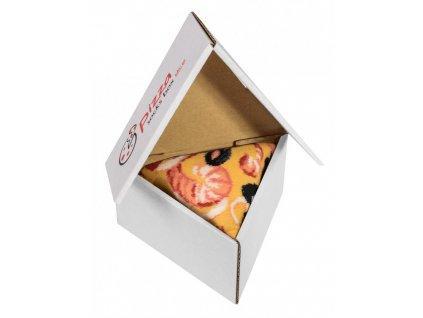 pizza box seafood ponozky paradoo
