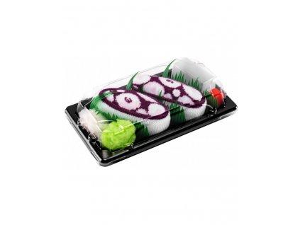 Ponožky Sushi Box - Fialová Chobotnica (1 pár)