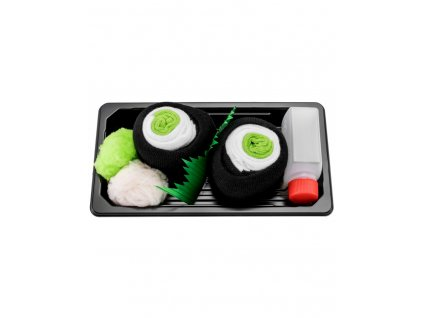 Ponožky Sushi Box - Makizushi s uhorkou (1 pár)