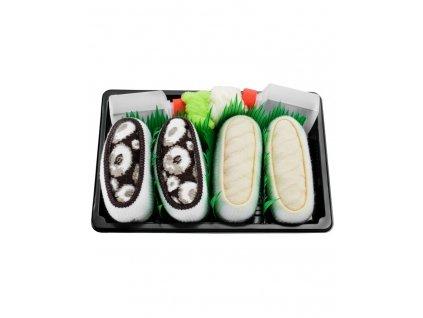 Ponožky Sushi Box - MIX 2 (2 páry)