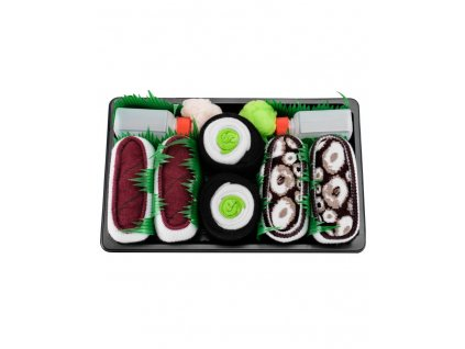 sushi box mix6 paradoo ponozky