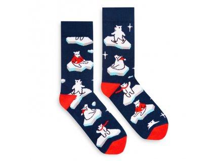 Veselé ponožky Polar Bear
