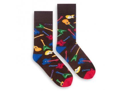 Veselé ponožky Rock Star