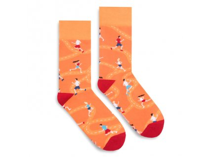 Veselé ponožky Run For Fun