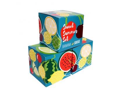Darčekové balenie ponožiek Sweet Summer set (3 páry)