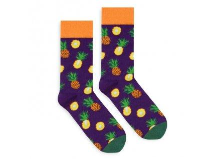 Veselé ponožky Pineapple