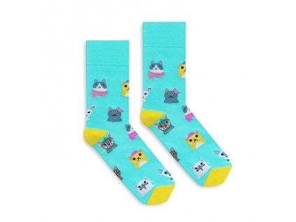 Veselé ponožky Cat Lover