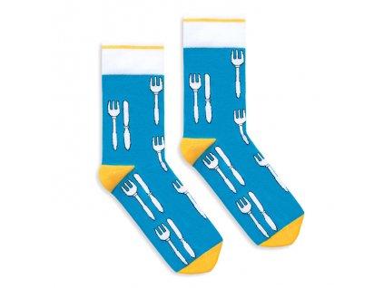 Veselé ponožky Knife and Fork
