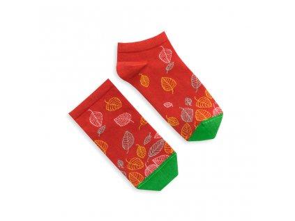 Veselé ponožky Leaves