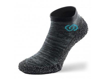 Barefoot ponožkotopánky Skinners Athleisure Metal Grey