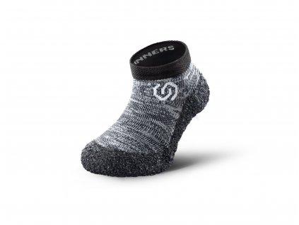 Detské barefoot ponožkotopánky Skinners Granite Grey