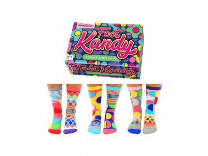Veselé ponožky Foot Kandy veľ.: 37-42