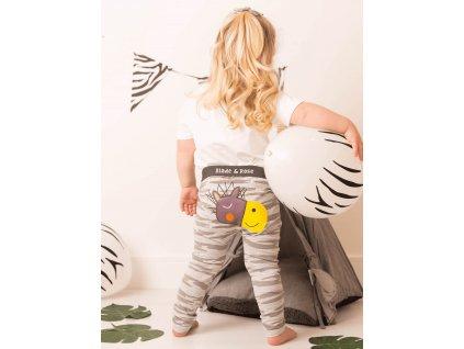 Detské legíny Zebra