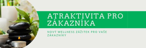 Atraktivní doplněk wellness procedur