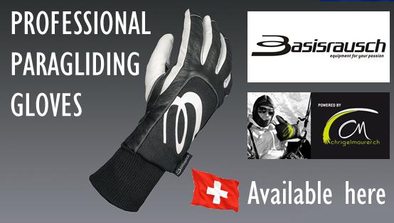 Professional paragliding gloves - Basisrausch
