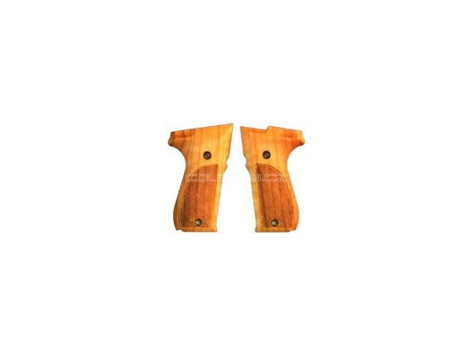 Střenky dřevěné original Walther P88