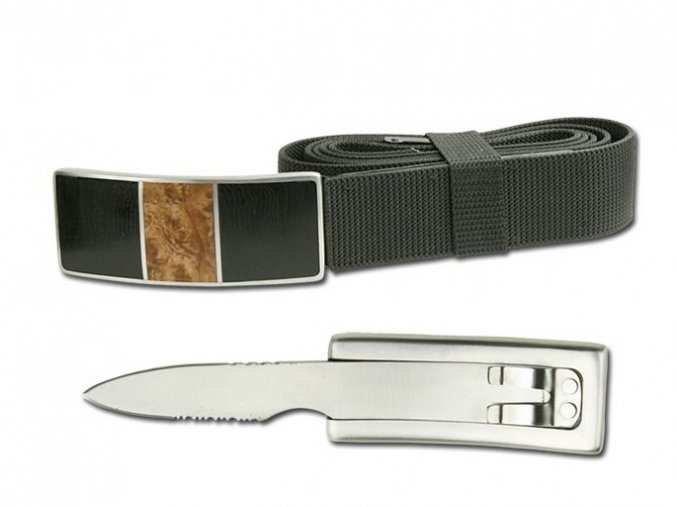 Pásek se skrytým nožem