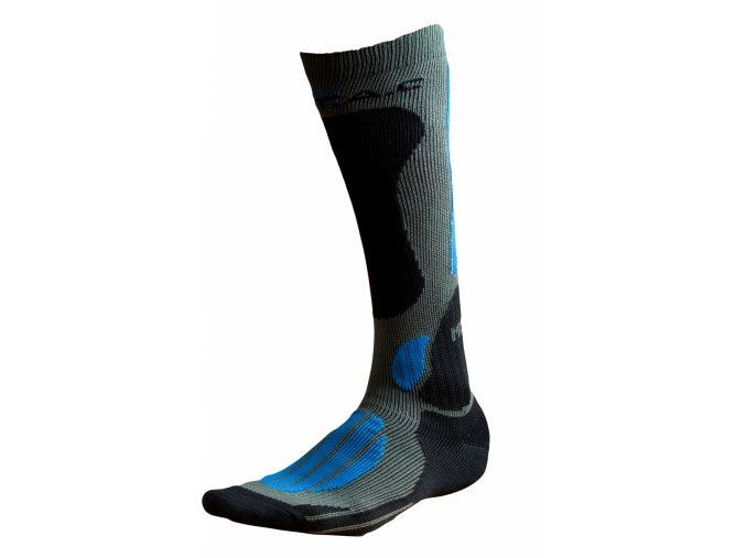 Ponožky BATAC Mission MI02 vel. 39-41 - olive/blue