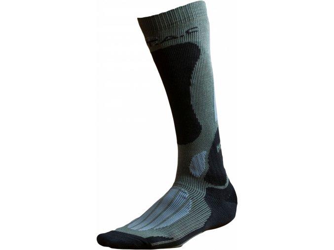 Ponožky BATAC Mission MI02 vel. 39-41 - olive/grey