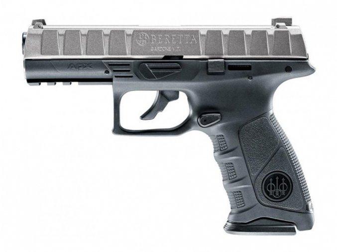 Vzduchová pistole Beretta APX Metal Gray