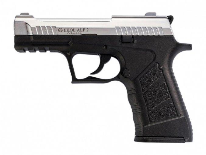 Plynová pistole Ekol Alp 2 chrom cal.9mm