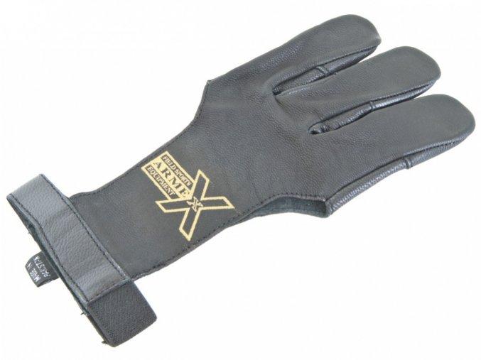 Lukostřelecká rukavice Armex kožená vel. XL