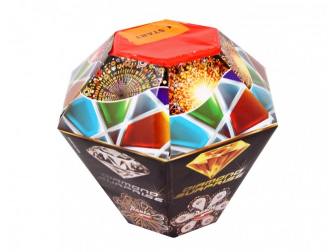 Pyrotechnika Fontána Diamond Surprise 160g, multiefekt