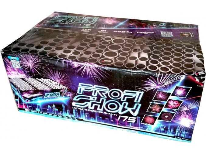 Kompaktní Ohňostroj Fireworks Show 175ran / 30 a 50 mm
