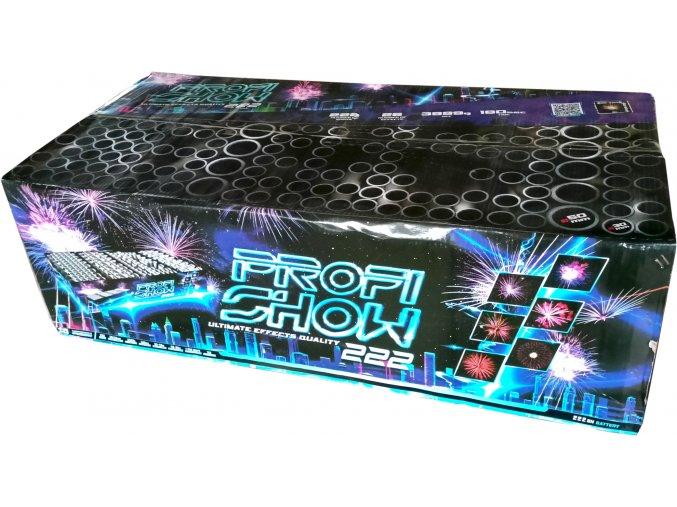 Kompaktní ohňostroj Fireworks Show 222ran / 30 a 50 mm