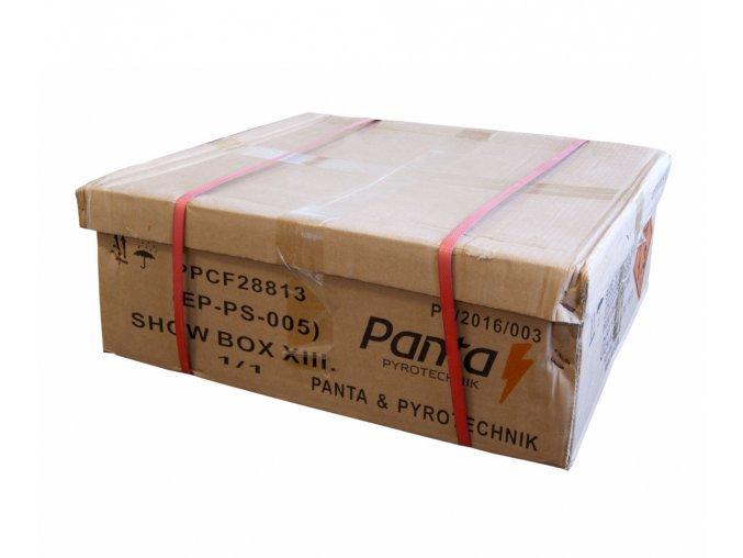 Kompaktní ohňostroj SHOW BOX 13 288ran / 20mm