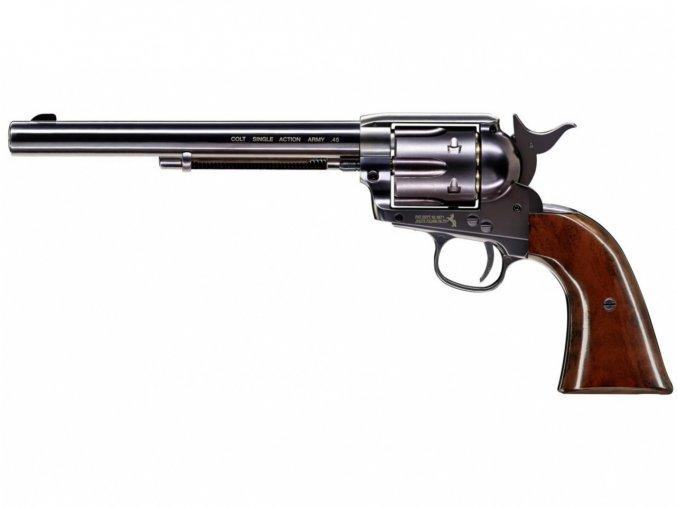 "Vzduchový revolver Colt SAA .45-7.5"" Diabolo Blued"