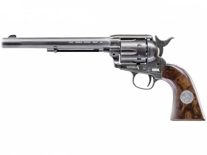"Vzduchový revolver Colt SAA .45-7.5"" NRA Limited Edition Diabolo"