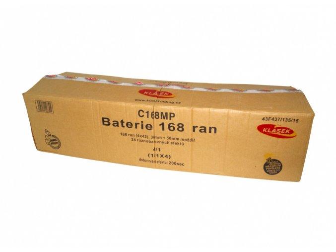 Pyrotechnika Kompakt 168ran / 30 a 50mm Baterie 168